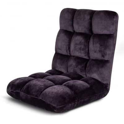 BIRDROCK HOME Adjustable Floor Chair, Fully Assembled