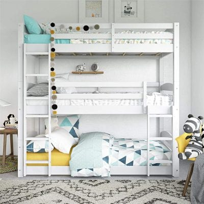 Dorel Living Triple Floor Bunk Bed
