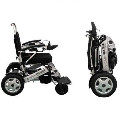 Sentire Foldable Med Forza Wheelchair