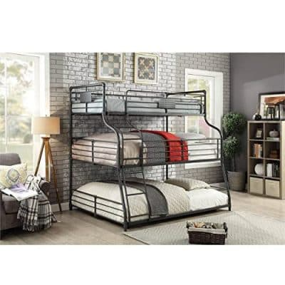 Furniture of America Triple Bunk Bed