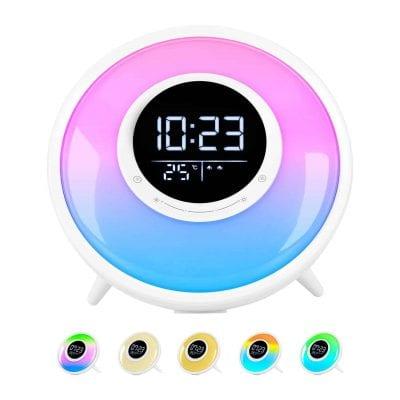 The FiveHome Nature Sound Alarm Clock