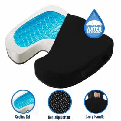 CUSHIONCARE Cooling Gel Seat Cushion