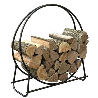 Panacea Tubula 40in Steel Log Hoop