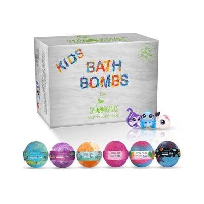 Sky organics bath bombs for children