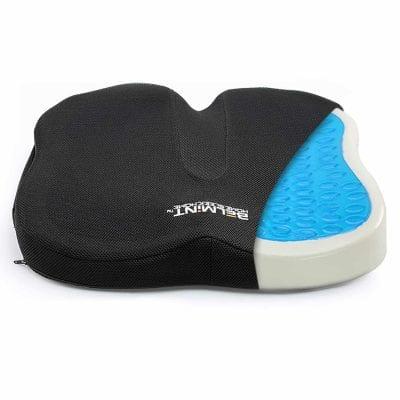 Orthopedic Memory Foam & Gel Seat Cushion