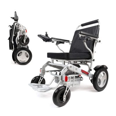 Porto Mobility Weatherproof Lightweight Electric Wheelchair