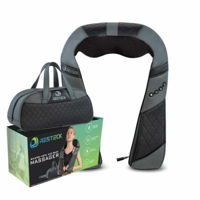 RESTECK Neck and Back Massager With Heat