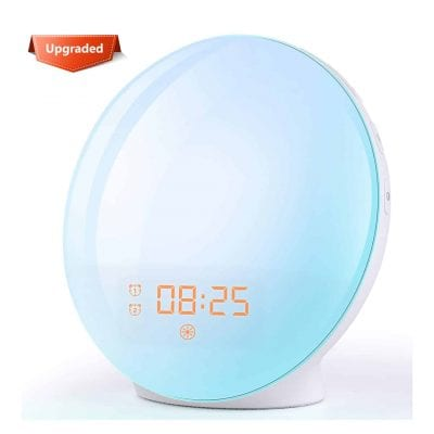 FITFORT Wake Up Light Alarm Clock
