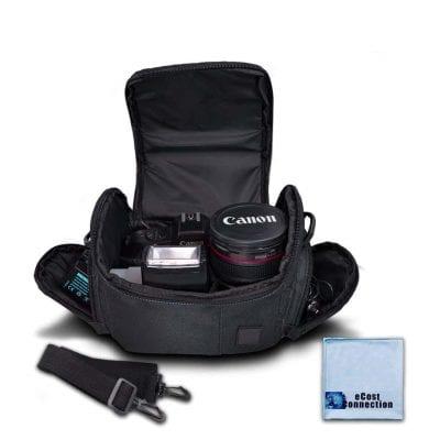 eCostConnection Medium Soft Padded Camera Case