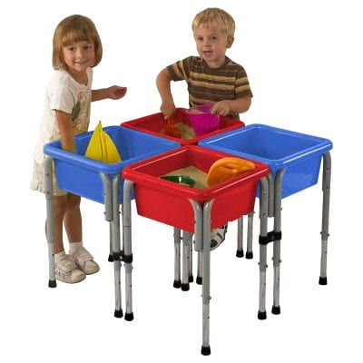 ECR4Kids Assorted Colors Water Adjustable Water Table