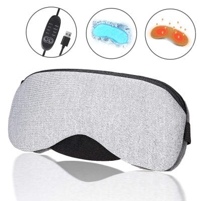 Hiverst Portable Heated Eye Mask