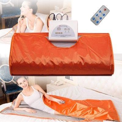 S SMAUTOP Infrared FIR Sauna Blanket