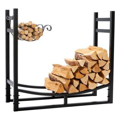 DOEWORKS 3 Feet Heavy Duty Firewood holder