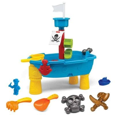 Liberty Imports Pirate Ship Beach Water Play Table