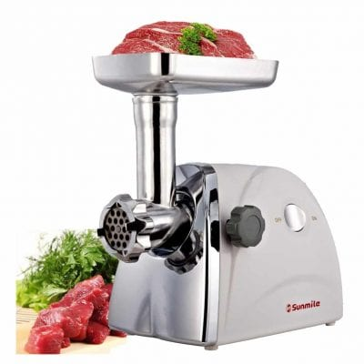 Sunmile Electric Meat Mincer and Grinder