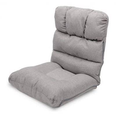 WAYTRIM Adjustable Floor Chair, Gray