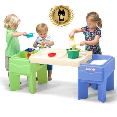 Simplay 3 Indoor Outdoor Sand and Water Table