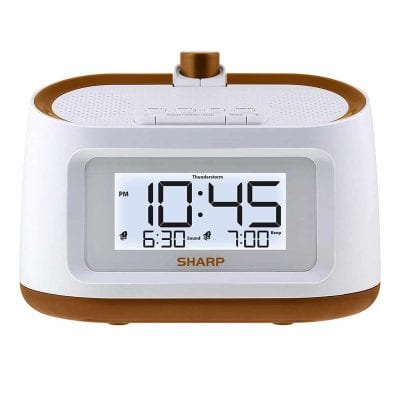 Sharp Projection (SPC585) Alarm Clock
