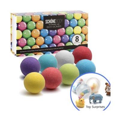 XXL Kids Toy Bath Bombs by Schone