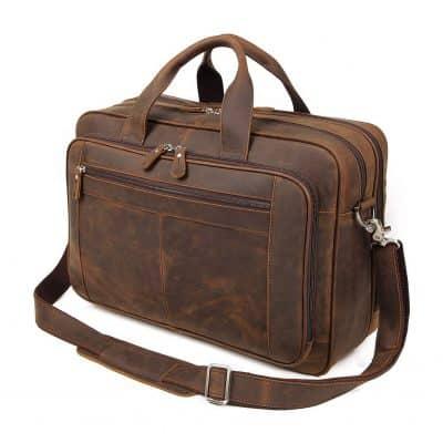Augus Business Travel Briefcase Laptop Bag