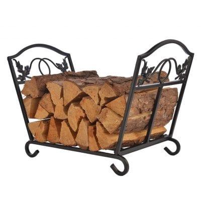 Patio Watcher Heavy Duty Steel Firewood Rack- Log holder