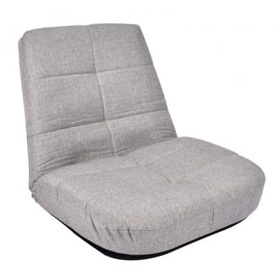 Puluomis Large Floor Chair for Meditation, Reading, etc. (Grey)