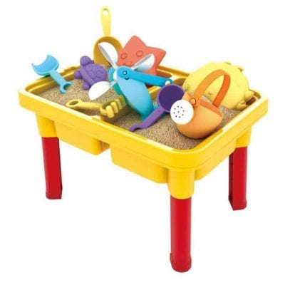 SOWOW 2-In-1 Sand Table Water Toy