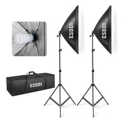 ESDDI Softbox Photography Lighting Kit