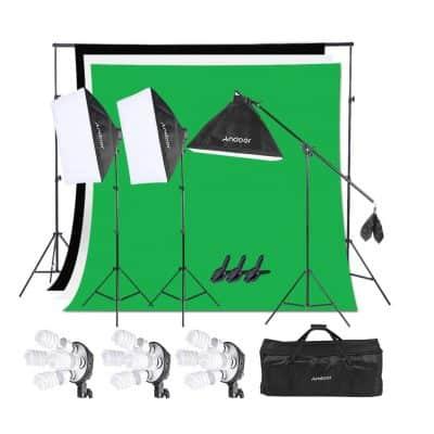 Andoer Photography Softbox Lighting Kit