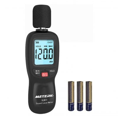 Meterk Sound Level Meter (Battery Included)