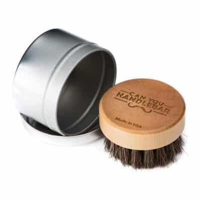 Can You Handlebar Beard Oil Brush