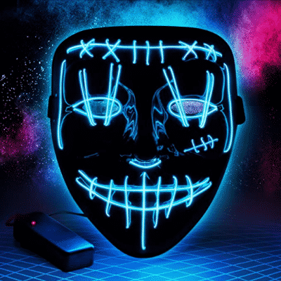 SIPU Halloween Purge Mask