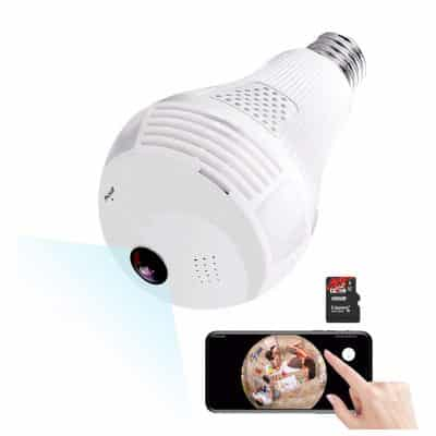 HaoXuan DianZi Light Bulb Camera