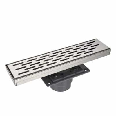 EMBATHER 12-Inches Shower Drain w/ Detachable Strainers