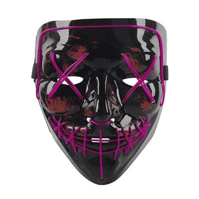 Qhome LED Light up Purge Mask