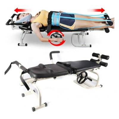 CNCEST Traction Bed Massage Table