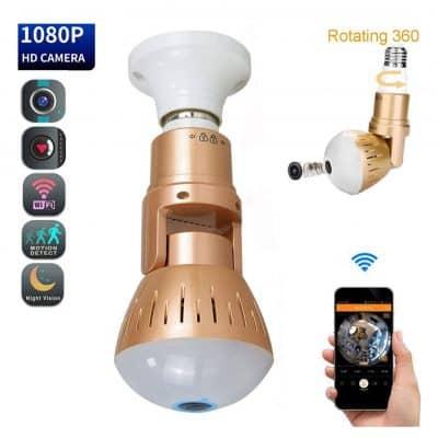 Miliyam Smart Bulb Camera