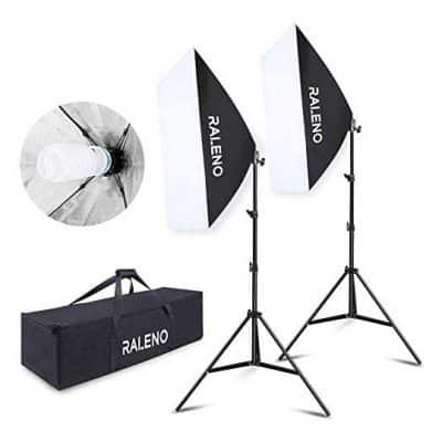 RALENO 800W Softbox Lighting Kit