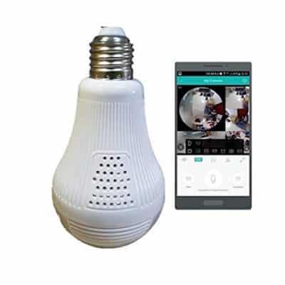 FULLWARD 1080P WiFi Bulb Camera