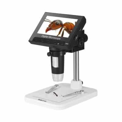 """9. Koolertron 4.3"""" LCD USB Microscope, 8 LED Adjustable Lights"""