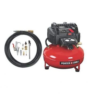 PORTER-CABLE Pancake Compressor w/ Pressure Gauge