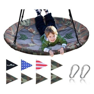 Royal Oak Flying Saucer Tree Swing
