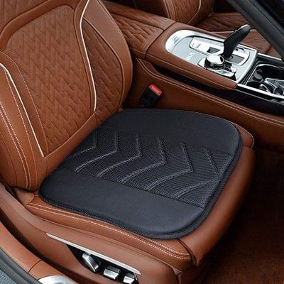 Elantrip Car Memory Foam Seat Cushion Pad with Non-Slip Bottom