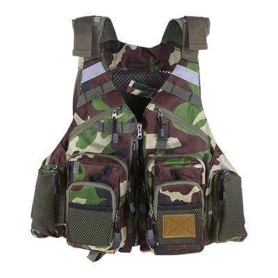 Lixada Fly Fishing Vest [Bearing Life safety Vest]