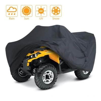 LotFancy Waterproof and Windproof ATV Cover