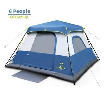 OT QOMOTOP 60 Seconds Set Up Waterproof Tents Instant Cabin Tent