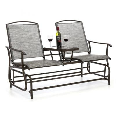 Best Choice Products Outdoor Glider Bench