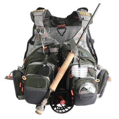 M MAXIMUMCATCH Fly Fishing Vest