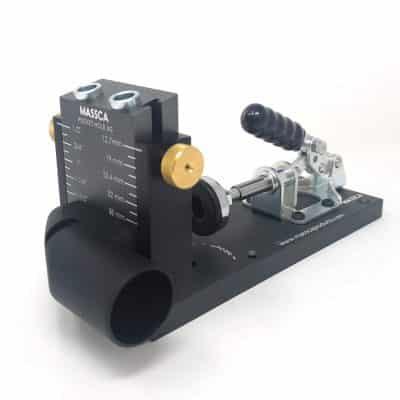 Massca Aluminum Pocket Hole Jig System Adjustable Woodworking Tool