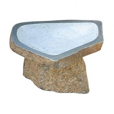 Stone Age Creations Bird Bath